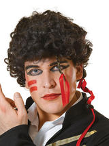 Adult Mens Adam Ant Wig