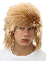 Adult Mens Blonde Shaggy Wig