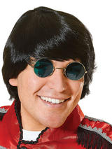 Adult Mens Groovy 60'S Black Wig