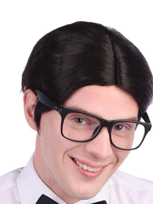 Adult Mens Nerd Wig