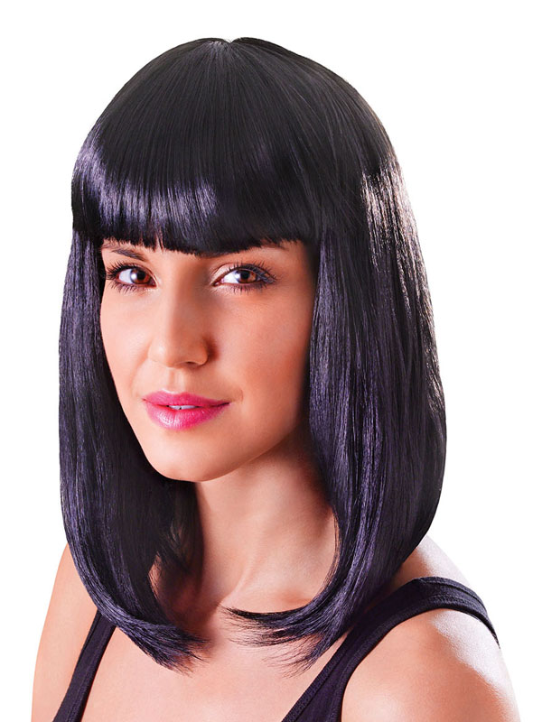 Adult Ladies Chic Doll Black Wig