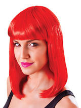 Adult Ladies Chic Doll Red Wig