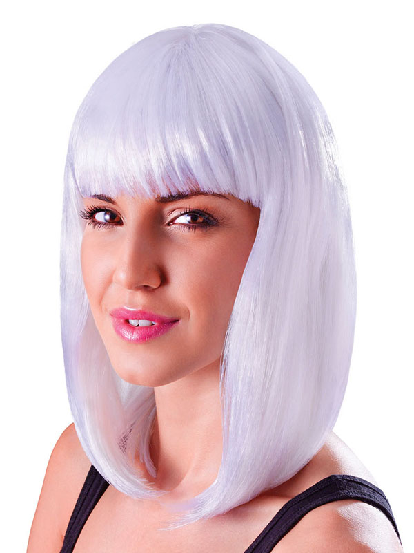 Adult Ladies Chic Doll White Wig