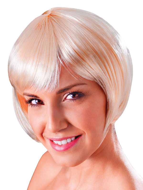 Adult Ladies Flirty Flick Blonde Wig