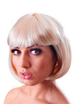 Adult Ladies Elegant Bob Blonde Wig