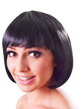 Adult Ladies Elegant Bob Black Wig