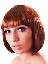 Adult Ladies Elegant Bob Wig Brown