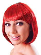 Adult Ladies Elegant Bob Red Passion Wig