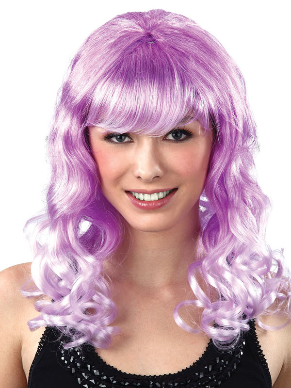 Adult Ladies Lolita Purple Mix Cosplay Wig