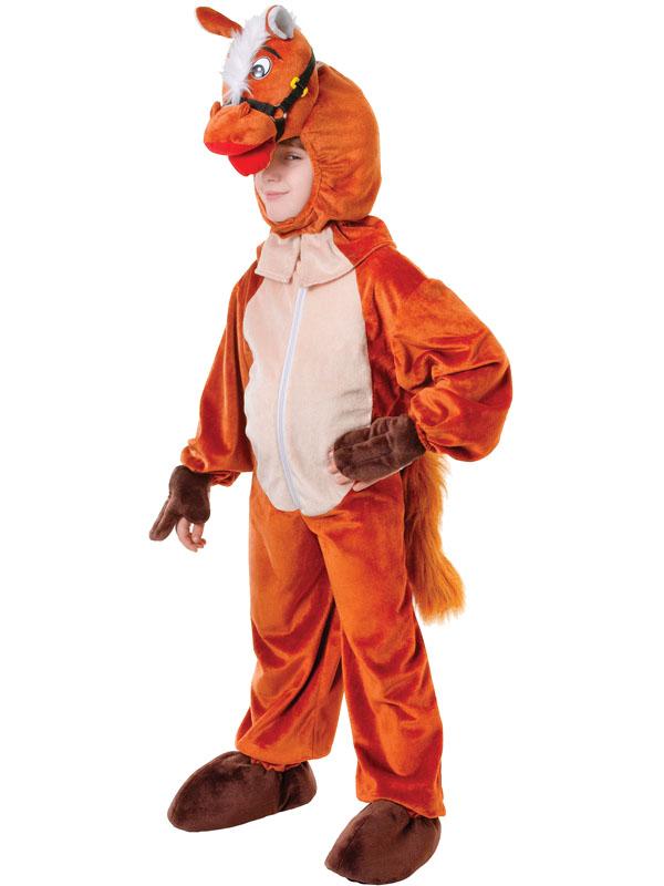 BAMBINO-Kidz-Fattoria-Animale-Kids-Wild-Horse-Cowboy-  sc 1 st  eBay & Child Kidz Farm Animal Kids Wild Horse Cowboy Western Fancy Dress ...