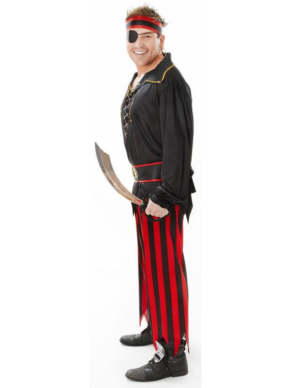 Pirate Man Costume Thumbnail 2