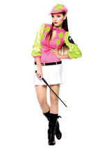 Sexy Jockey Female Costume