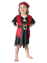 Child Girls Pirate Girl Costume