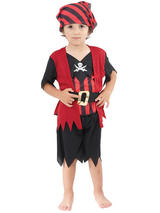 Child Pirate Boy Mate Costume