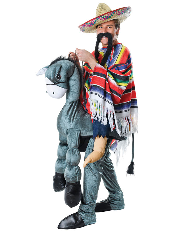 Hey Amigo Mexican On Horseback Costume