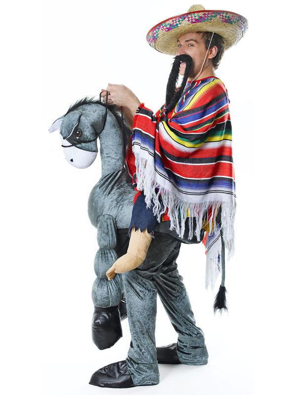 Hey Amigo Mexican On Horseback Costume Thumbnail 2