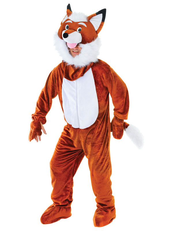 Mr Fox Big Head Costume