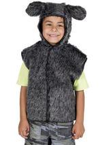 Child Donkey Fur Tabard Costume