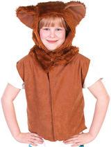 Child Lion Fur Tabard Costume Charlie Crow