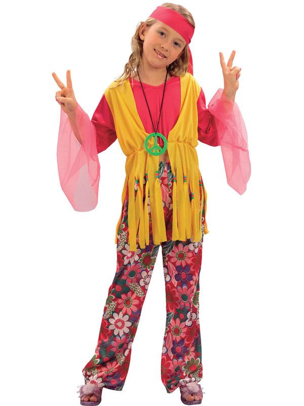 Child Hippy Girl Costume