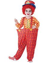 Child Hoop Clown Costume