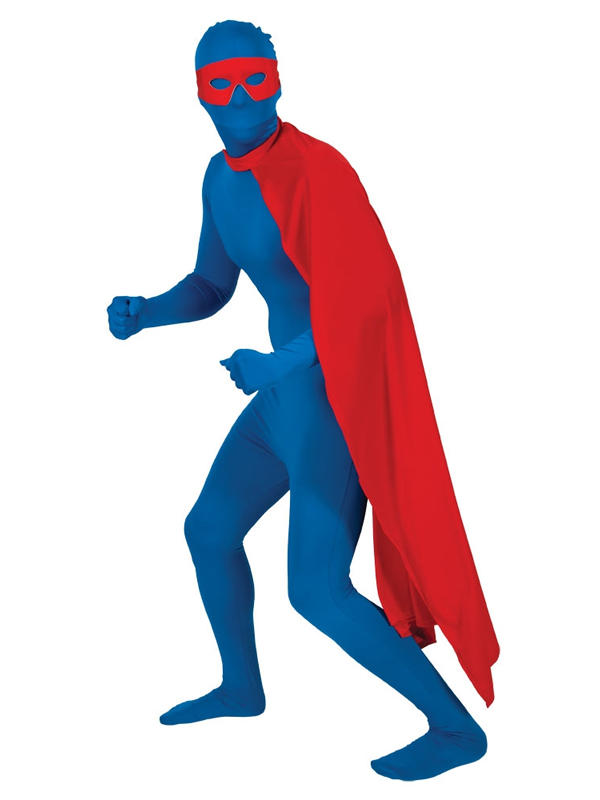 Superhero Cape Long Red