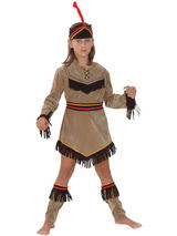 Child Indian Girl Deluxe Costume