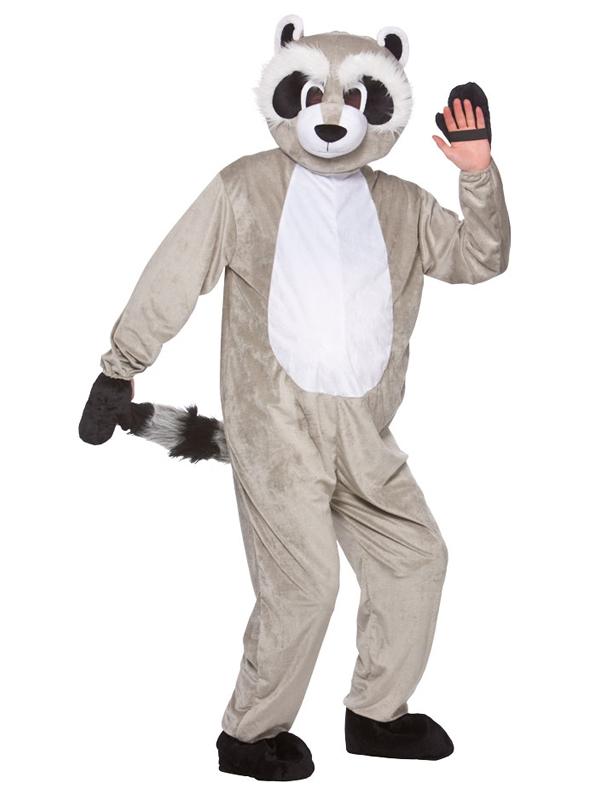 Mascot Racoon Costume