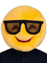 Adult Cool Smiley Emoji Mask