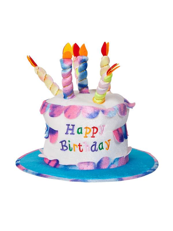 Adult Ladies Deluxe Happy Birthday Hat