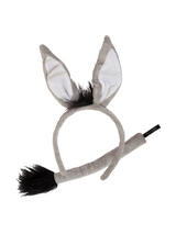 Animal Ears & Tail Donkey
