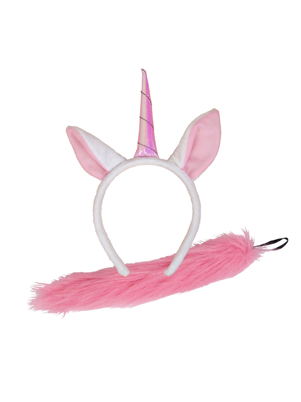 Ladies Animal Ears & Tail Unicorn