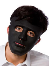 Robot Mask Deluxe Black