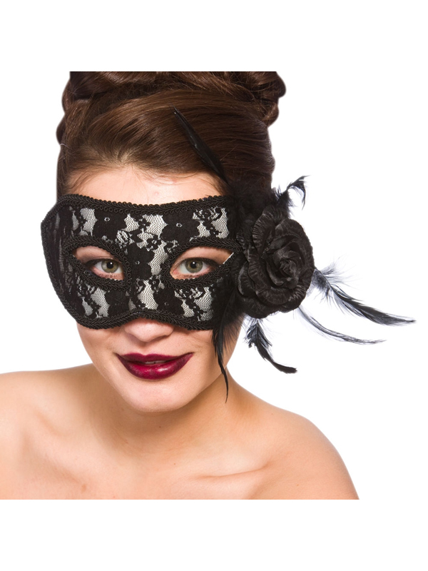 Adult Ladies Lariano Eye Mask Black