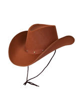 Texan Cowboy Hat Brown