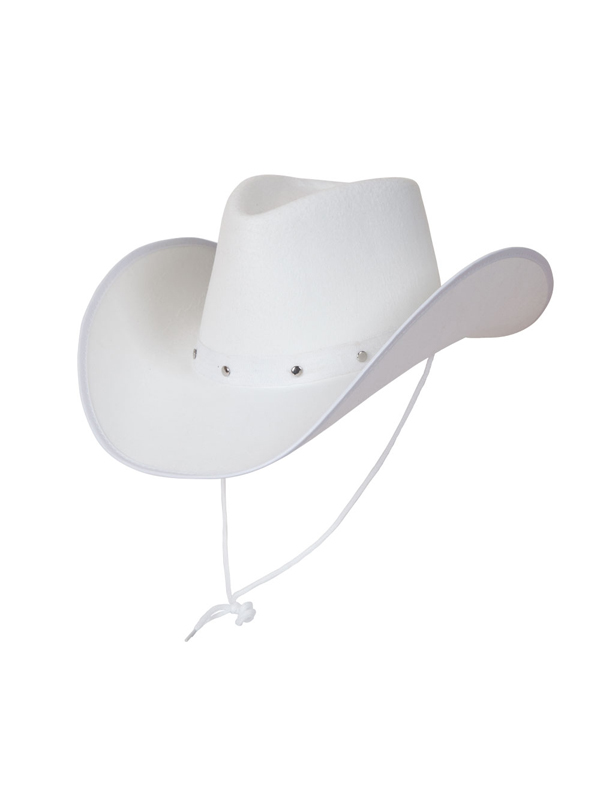 Texan Cowboy Hat White