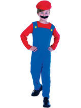 Child Plumber's Mate Boy Costume