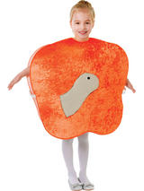 Child Giant Peach + Worm Costume