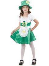 Child Leprechaun Girl Costume