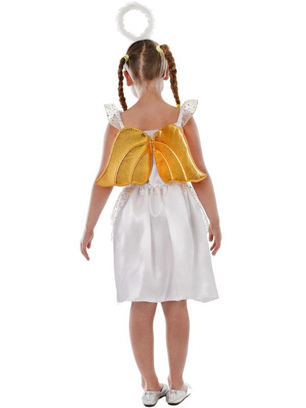 Child Angel. Costume Thumbnail 3