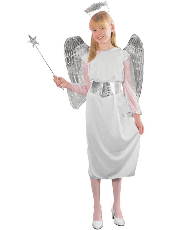 Child Angel. Budget Costume