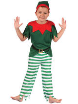 Child Santa Helper Boy Costume