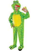 Child Frog Plush Costume