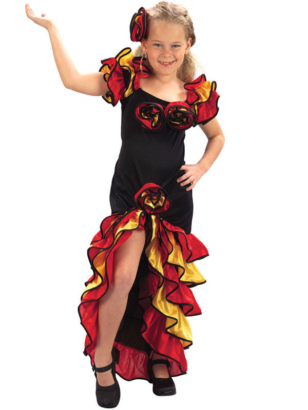 Child Rumba Girl Costume