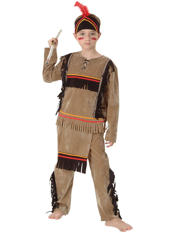 Child Indian Boy Deluxe Costume