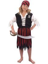 Child Pirate Girl Costume