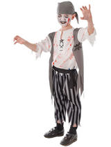 Child Zombie Pirate Boy Costume