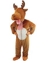 Child Reindeer Big Head Costume