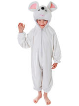 Child White Mouse Costume