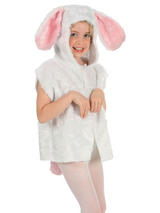 Child Rabbit Fur Costume Tabard